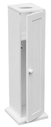 Premier Housewares Armoire Pour Papier Toilette Blanc 65 X 20 X 20