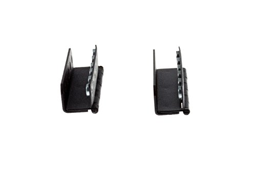 Gruber 2RU Rackmount Swinging Patch Panel Mounts by Gruber (Image #3)