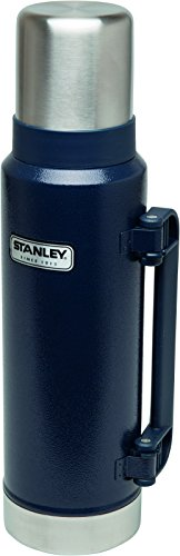 Stanley Classic Vacuum Insulated Bottle, Navy - 1.3 Litre by Stanley