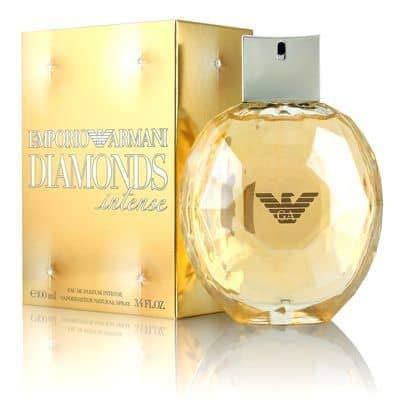 Empório Armáni Diamonds Intense by Giórgió Armáni Eau De Parfum Spray for women 3.4 fl oz / 100 ml