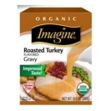 Imagine Foods Organic Roasted Turkey Flavored Gravy, 13.5 Fluid Ounce - 12 per case.