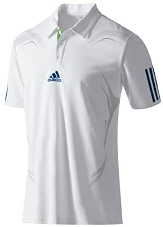 Boys Adidas Barricade Climacool Short Sleeve Tennis Polo