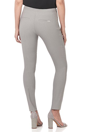 Rekucci Women's Ease in to Comfort Modern Stretch Skinny Pant w/Tummy Control (10,Silver) by Rekucci (Image #2)