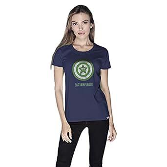 Creo T-Shirt For Women - L, Navy