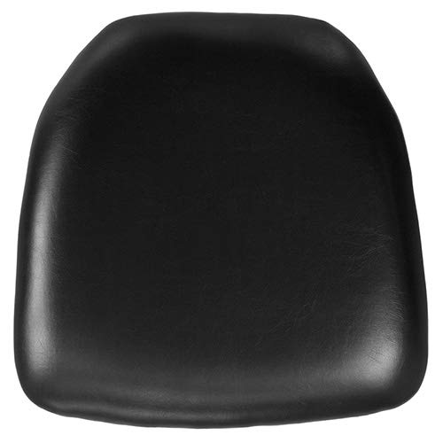Flash Furniture Hard Black Vinyl Chiavari Chair - Vinyl Black Seat