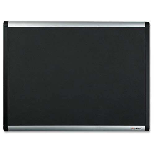- Lorell Bulletin Board, Mesh Fabric with Hardware, 3 by 2-Feet, Black