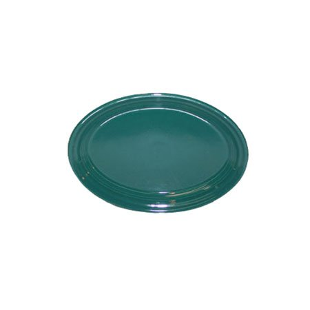 Fiesta 9-5/8-Inch Oval Platter, Evergreen (Fiesta Platter Oval Serving)