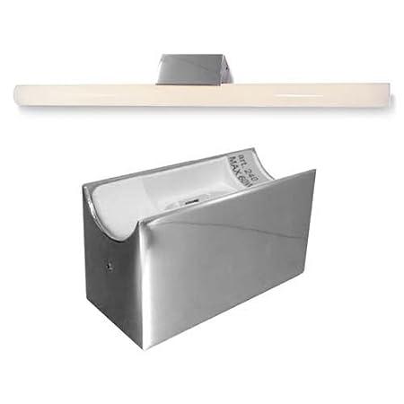 linestra alutec mirror light line lamp 1x 35 60w chrome fixture