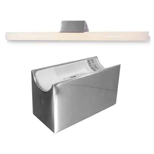 ALUTEC Spiegelleuchte für Linestra Linienlampe - LED - max. 35/60W - Chrom [Energieklasse A] CLE CARDAN LIGHT EUROPE