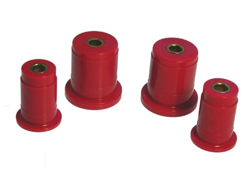 Prothane 6-207 Red Front Control Arm Bushing Kit (Bushings Mustang Arm Front Control)