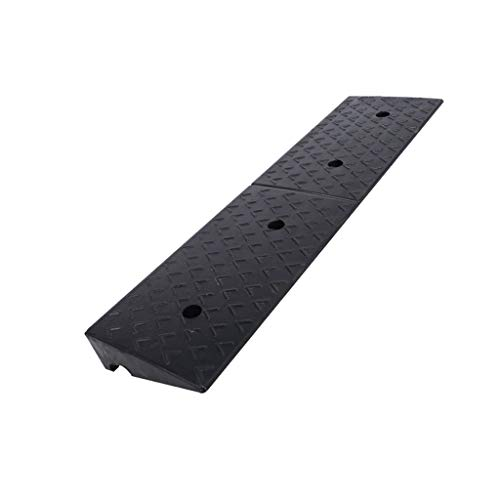 Park Ramps, Baby Carriage Trolley Service Ramps Rubber Non-Slip Kerb Ramps Car Uphill Slope Pad Vehicle Ramps (Size : ()