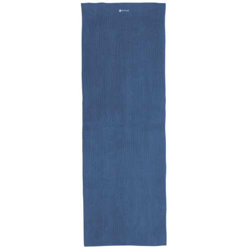 Gaiam Yoga Mat Towel, Dark Blue