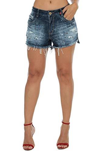 Shorts Osmoze Mid Drop Azul 40
