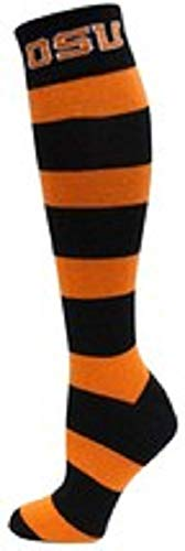 NCAA Oregon State Beavers Stripe Dress, One Size, Black/Orange ()