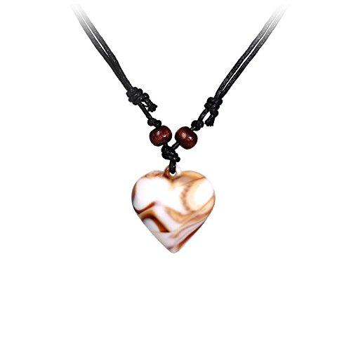 YouBella Jewellery Stylish Heart Shape Pendant / Necklace for Women/Girls