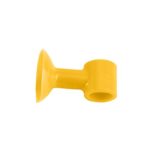 4 Pcs Silicone Anti Collision Door Stops Free Punching Protective Your Door And Mute Yellow