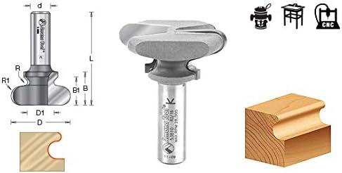 Amana Tool 53806 Carbide Tipped Finger Grip 3//32 x 3//16 Radius x 3//4 Dia x 3//4 x 1//2 Inc