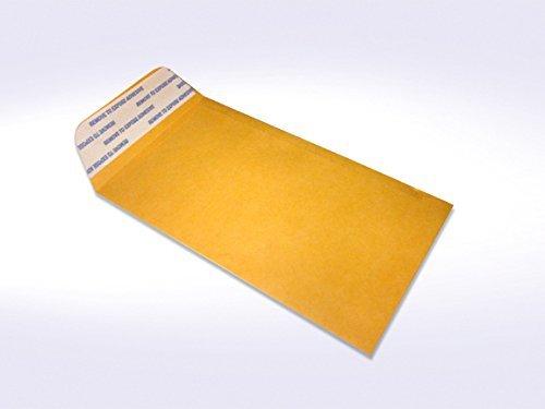 # 7 Coin Brown Kraft Envelopes, Peel & Seal, for Small Parts, Cash, Pack of 50 312BDrkNA35L
