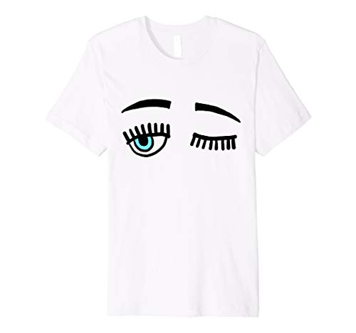 (Wink Eyes T shirt | Eye Wink Tee)