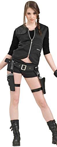 SALES4YA Womens Holster and Guns Huntress Adult Costume Womens Costume ()