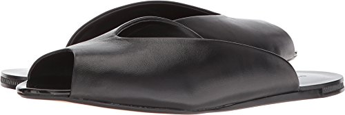 Donna Karan Women's Zuzu Mule Black Nappa Leather 9 M US