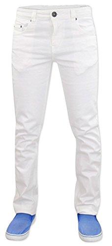 Face Extensible Coton Skinny Coupe Jean Blanc Denim True Homme Pour gxUAfqO