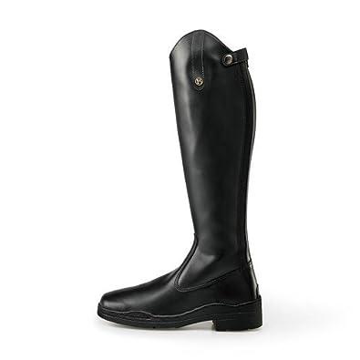 5abe11957 Brogini - Botas Altas de caña Ancha Modelo Modena para Adultos (39  EU Negro)  Amazon.es  Zapatos y complementos