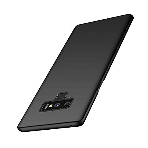 (Galaxy Note 9 Thin Hard Case Lightweight Anti-Scratch Slim Simple Minimal Cover for Samsung Note9 Shell(Black)))