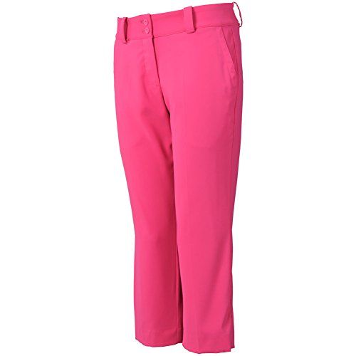 Nike Damen Modern rise tech Crop Pant Hot Pink