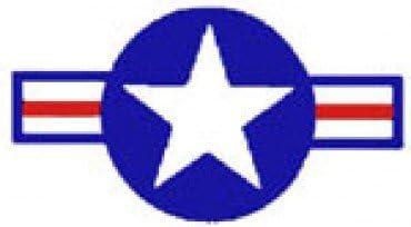 """STARS & BARS-1947 スタイル 30""""DECAL"""