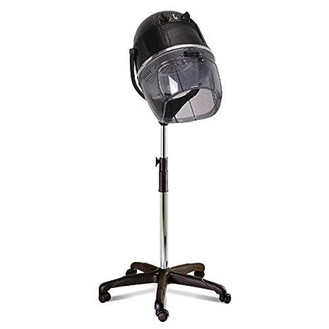 Crisnails® Secador de Casco, Procesador de Color Profesional para Peluquería y Salón, Temperatura
