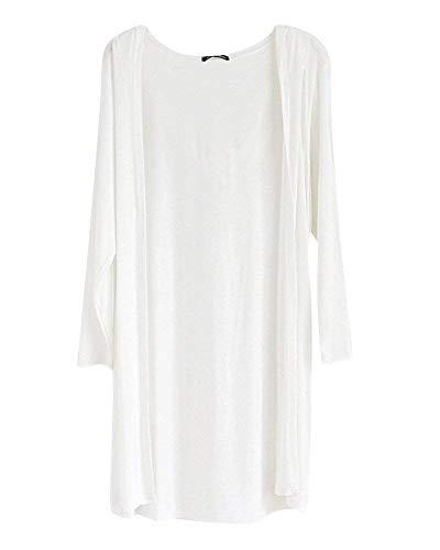 Outerwear Comodo Donna Abbigliamento Casual Maglia Giubotto Adattamento A Giacca Schwarz Giovane Manica Moda Maglie Elegante Monocromo Autunno Lunga 17tr7x