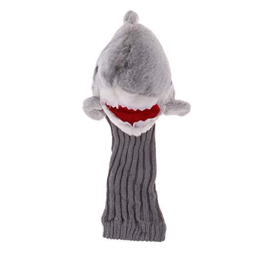 Baosity Novelty Long Neck Shark Golf Head Cover Headcover for 460 Cc Wood Driver