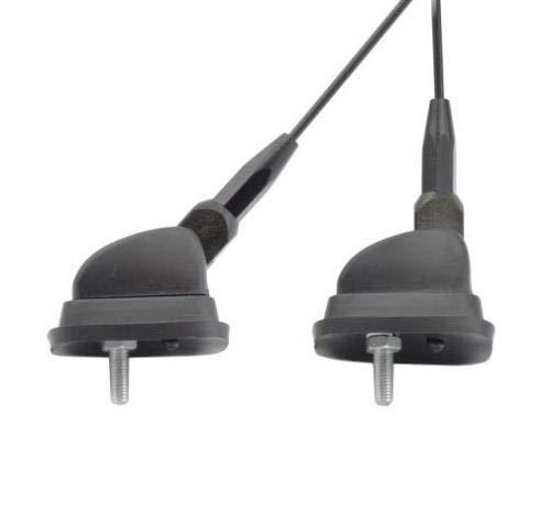 9036 Auto Antenne Dachantenne 70cm Antennenstab verstellbar 2m Kabel WATERMARK WM