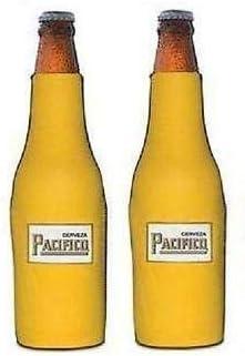Pacifico Clara Beer Bottle Suit Holder Cooler Kaddy Huggie Coolie Set of 2