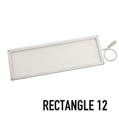 (SPOTMOD Slik 12V LED Panel Modules 4 x 12 in Rectangle 4000K White)