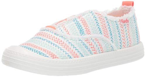 Keds Kids Girl's Breaker Slip ON Shoe, White, 8 M US Toddler