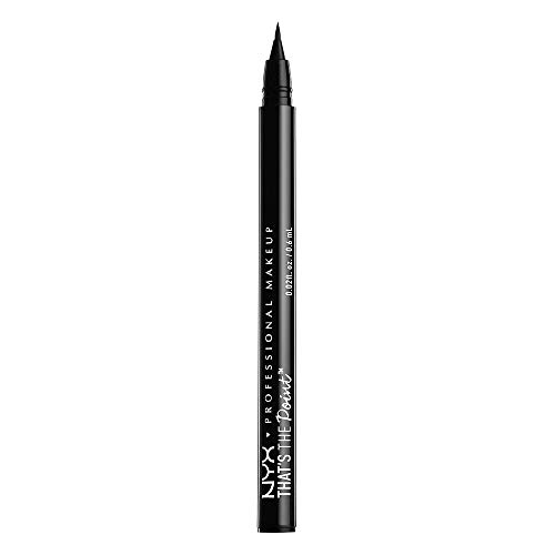 NYX PROFESSIONAL MAKEUP That's The Point Eyeliner, Hella Fine, 0.02 Ounce