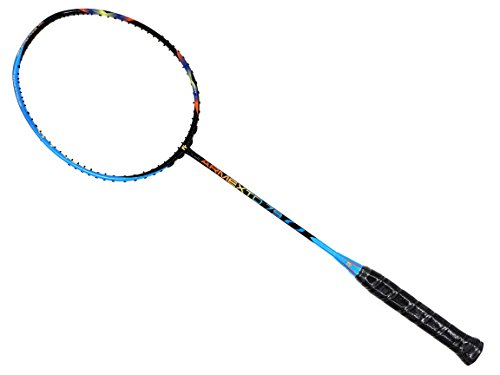 Fleet ArmexTD 79 Black Blue Badminton Racket (4U) by Fleet
