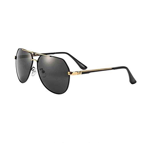 de peso Black de Color Gafas cómodo conducción Silver polarizadas gray HD estilo gold ligero gafas Sunny con de de sol Black simple HONEY hombres pesca antideslumbrante Grey los de EHn0FqF