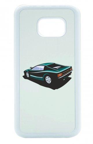 "Smartphone Case Apple IPhone 7+ Plus ""hot Rod Sportwagen Oldtimer Young Timer Shellby Cobra GT Muscel Car America Motiv 9800"" Spass- Kult- Motiv Geschenkidee Ostern Weihnachten"