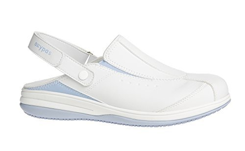Oxypas Iris, Women's Safety Shoes, White (Lbl), 8 UK (42 EU)
