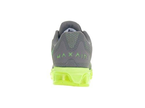 Nike Mens Air Max Medvind 7 Löparsko Kyler Grå / Grön Strike / Volt