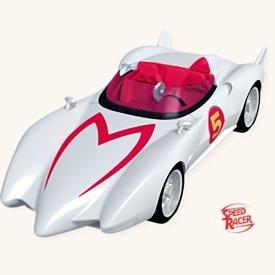 Hallmark 2008 - The Mach 5 - Speed Racer (Mach 5 Racers Toy)
