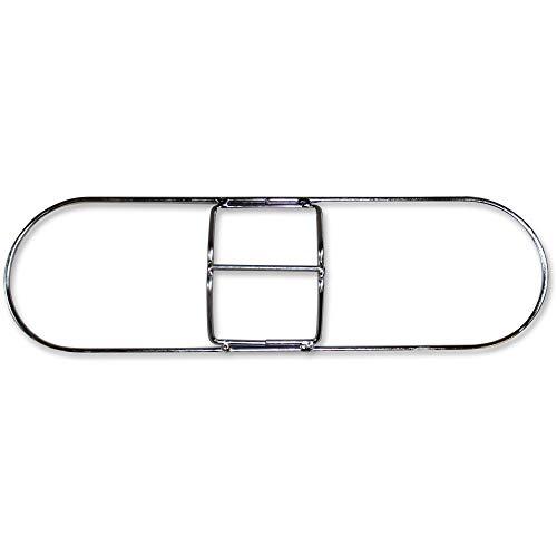 Genuine Joe Dust Mop Frame, Standard Clip-On, 48, Metallic -