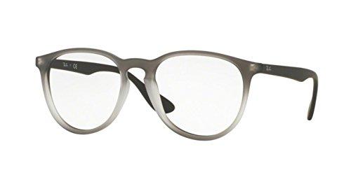 Ray-Ban Women's RX7046 Eyeglasses Grey Gradient Rubber ()