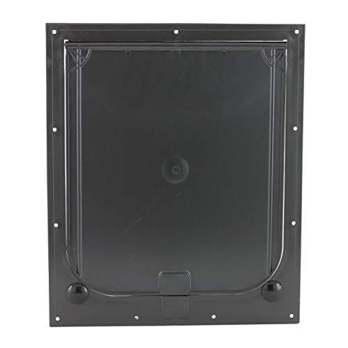 Plaza Enterprises Inc Magnador Kennel Dog Door, Medium Flap, Standard Magnet, Bronze