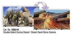 Desert Cactus Aquarium or Terrarium Background, 19\