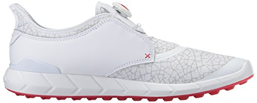 Disc Mens Violet PUMA Gray Risk Shoe Golf Ignite Extreme High Red White STOwOaq