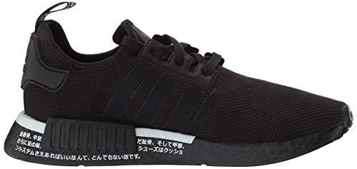 adidas Originals Men's NMD_R1 Running Shoe, Black/White, 4 M US by adidas Originals (Image #7)